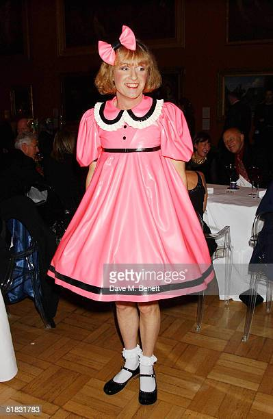Grayson Perry attends the afterparty following the announcement of the 2004 Turner Prize winner at the Tate Britain on December 6 2004 in London The...