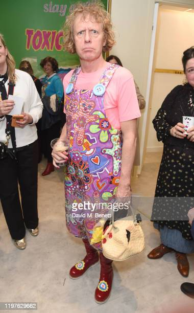 Grayson Perry attends the launch of the Magda Archer x Marc Jacobs Collaboration at Harvey Nichols on January 30 2020 in London England