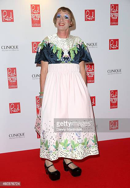 Grayson Perry attends the Red Women Of The Year Awards at Skylon Grill on October 12, 2015 in London, England.