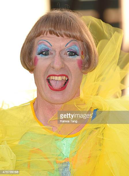 Grayson Perry attends the Royal Academy of Arts Summer Exhibition at the Royal Academy on June 3, 2015 in London, England.