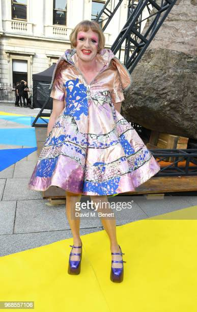 Grayson Perry attends the Royal Academy Of Arts summer exhibition preview party 2018 on June 6 2018 in London England