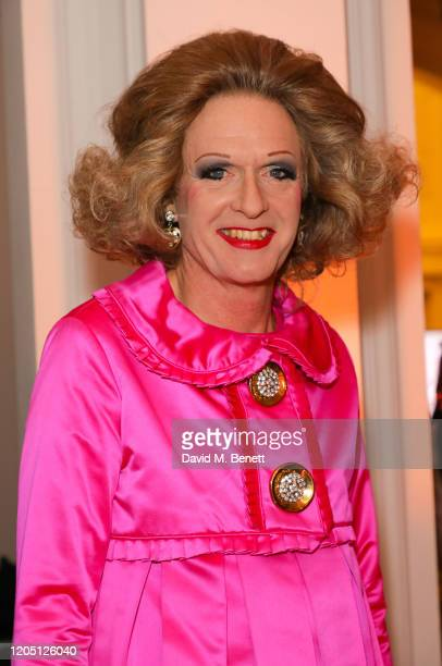 Grayson Perry attends The Royal Academy Schools annual dinner and auction at Royal Academy of Arts on March 4 2020 in London England