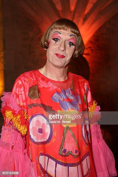 Grayson Perry attends the Save The Children Winter Gala at The Guildhall on November 22 2016 in London England