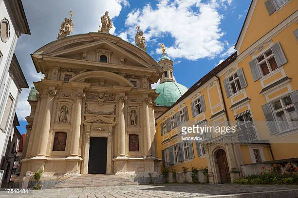 graz (austria) mausoleum - graz stock photos and pictures