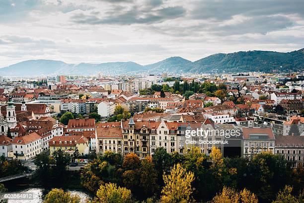 graz - austria stock pictures, royalty-free photos & images