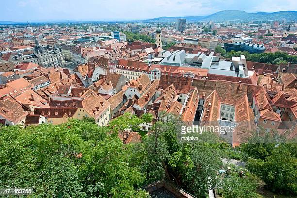 Graz skyline