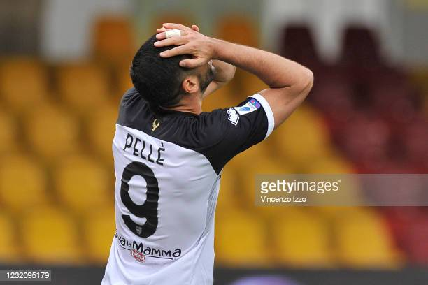 Graziano Pellè player of Parma, during the match of the Italian football league Serie A between Benevento vs Parma final result 2-2, match played at...