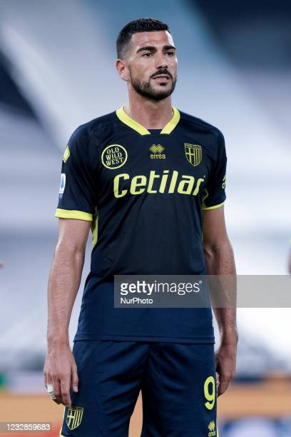 Graziano Pelle of Parma Calcio 1913 during the Serie A match between SS Lazio and Parma Calcio 1913 at Stadio Olimpico, Rome, Italy on 12 May 2021.