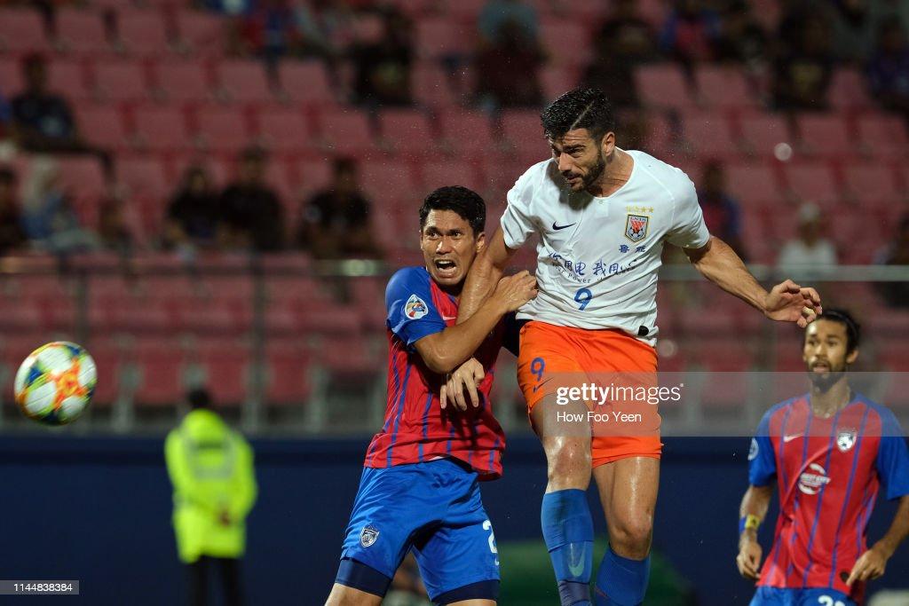 Johor Darul Ta'zim v Shandong Luneng - AFC Champions League Group E : ニュース写真
