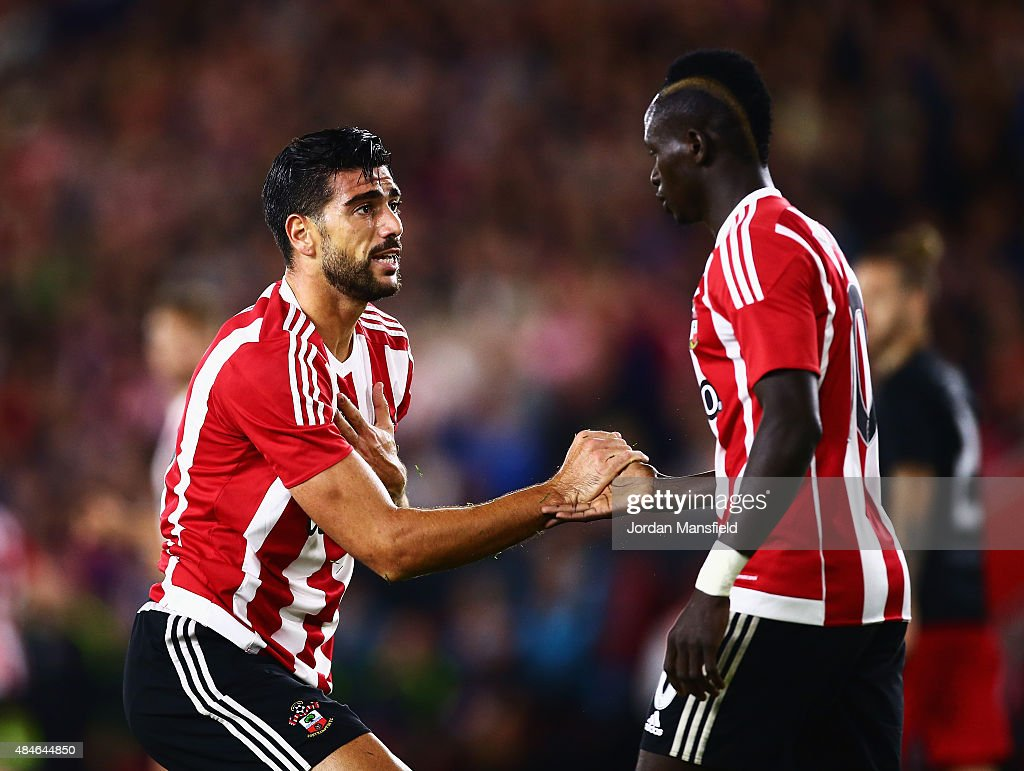 Southampton v Midtjylland - UEFA Europa League: Play Off Round 1st Leg : News Photo