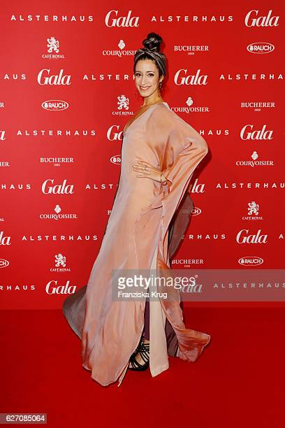 Graziella Schazad attends the GALA Christmas Shopping Night 2016 at Alsterhaus on December 1 2016 in Hamburg Germany