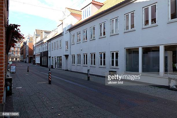 Gråbrødregade in der Kleinstadt Kolding Dänemark