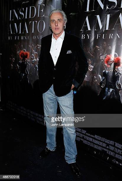 Gre Goriess attends 'Inside Amato' New York premiere at Liberty Theater on September 16 2015 in New York City