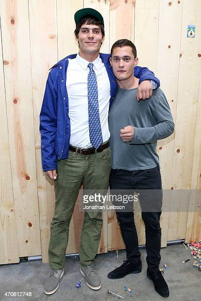Grear Patterson and Rafi Gavron attend the Depart Foundation In Collaboration With American Academy In Rome Presents Grear Patterson Seek And Destroy...