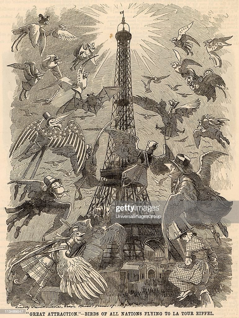 FRA: 31st March 1889 - The Eiffel Tower Is Inaugurated