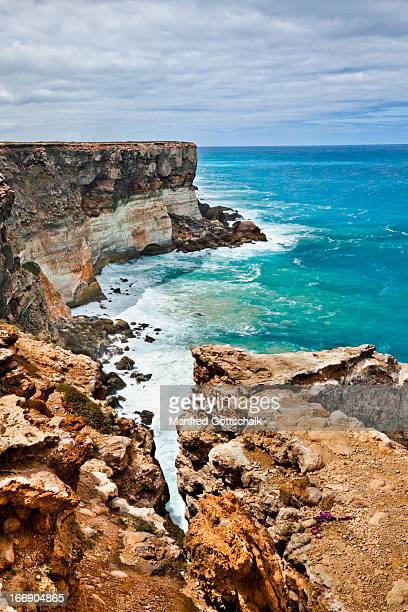 Great Australian Bight coastal cliff