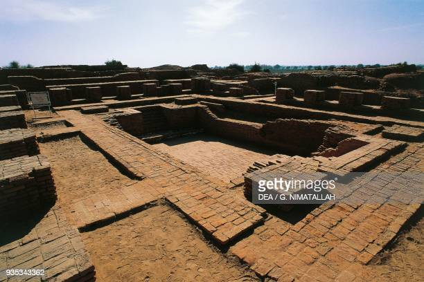 Great bath or swimming pool Moen jo Daro Sindh Pakistan Indus Valley civilisation 2600 bC