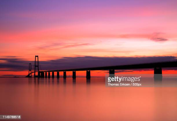 great belt bridge - eriksen foto e immagini stock