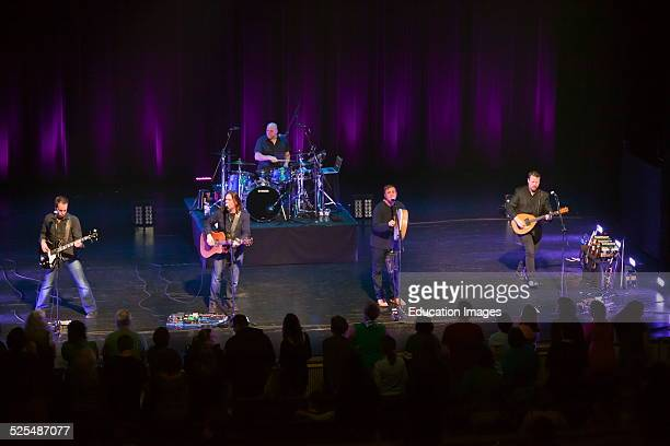 Great Big Sea A Singing Group From Canada Preform At The Sunset Center Carmel California