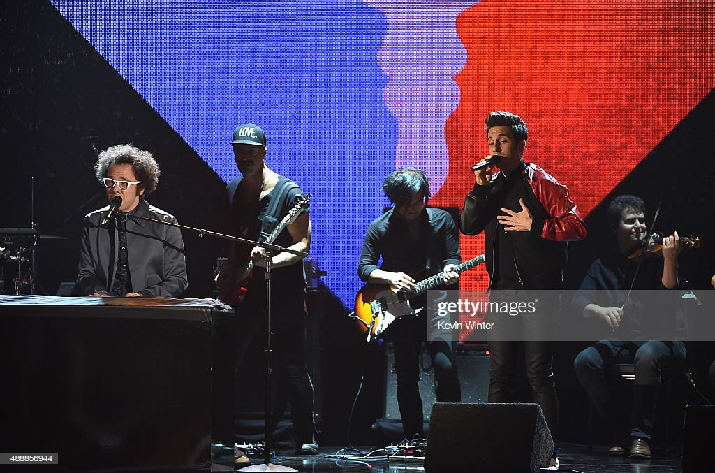 Great Big World performs at VH1's 5th Annual Streamy Awards at the Hollywood Palladium on Thursday, September 17, 2015 in Los Angeles, California.