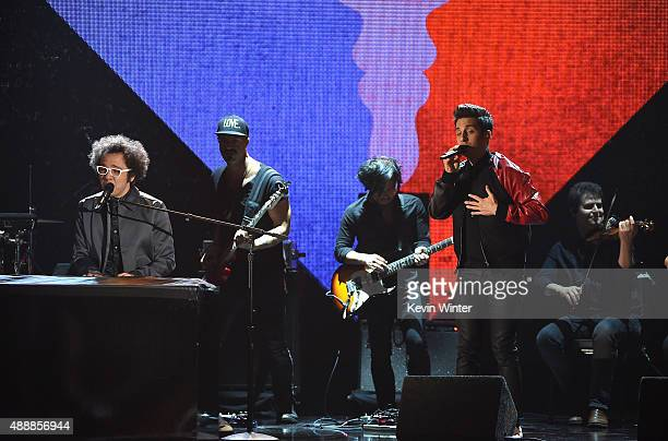 Great Big World performs at VH1's 5th Annual Streamy Awards at the Hollywood Palladium on Thursday September 17 2015 in Los Angeles California