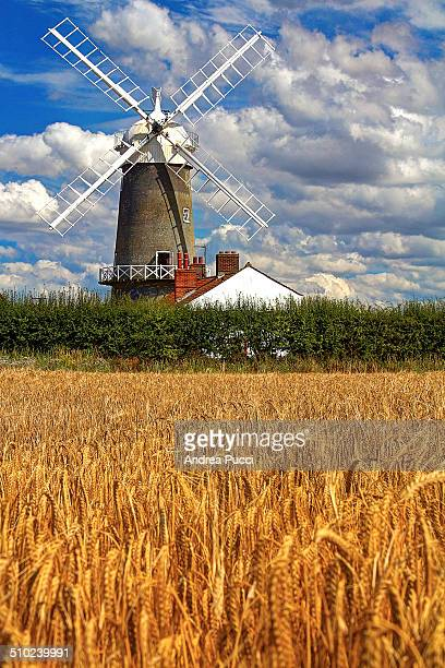 Great Bircham Windmill is in Great Bircham Norfolk England and it was built in 1846