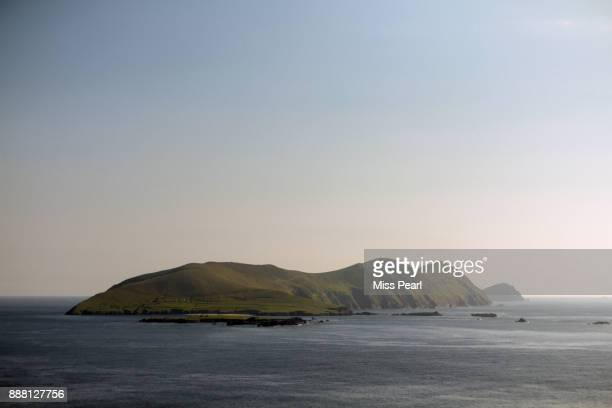 great blasket island - kerry - great blasket island stock pictures, royalty-free photos & images