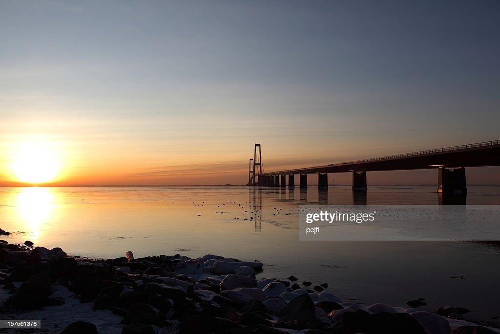 Great bridge at sunset! : Stock Photo