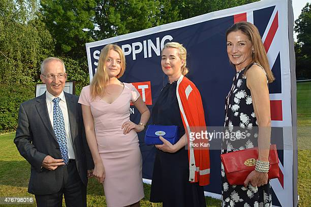 Great Britain ambassador Sir Peter Ricketts, Flora Alexandra Ogilvy, Anne Marie Verdin Brand Director at Mulberry and Lady Tania Rotherwick attend...