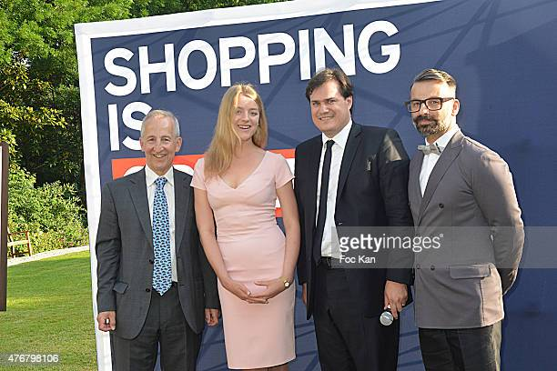 Great Britain ambassador Sir Peter Ricketts Flora Alexandra Ogilvy from the Royal Family Comite Faubourg Saint Honore President Benjamin Cymerman and...