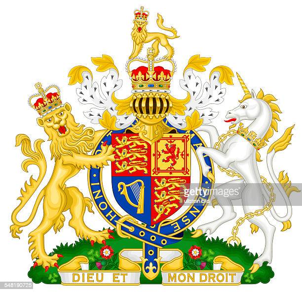 Great Britain Coat of arms of the United Kingdom of Great Britain and Northern Ireland