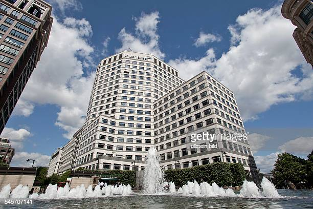 Great Britain England London British headquarters of the bank Credit Suisse in Canary Wharf