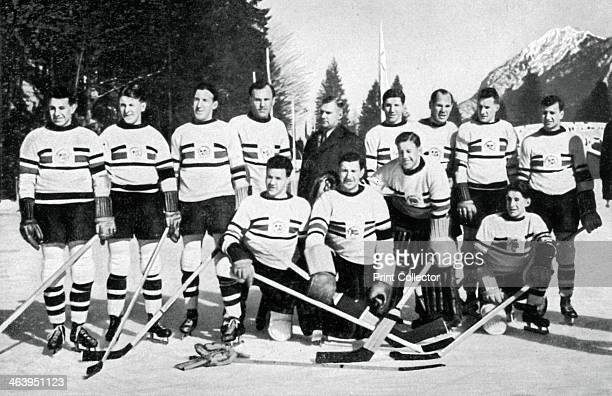 Great Britain ice hockey team Winter Olympic Games GarmischPartenkirchen Germany 1936 Great Britain finished ahead of Canada in the final pool to win...