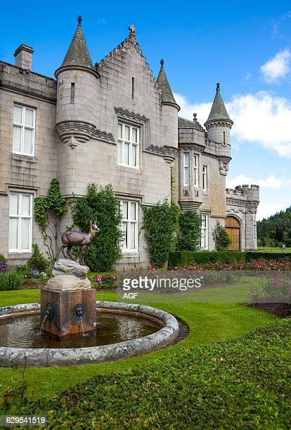 Great Britain Scotland Aberdeenshire The Balmoral Castle Summer Residence of the British Royal Family