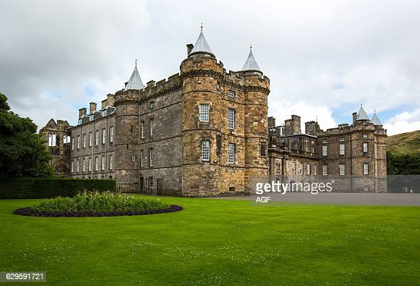 Great Britain Scotland Edinburgh The Palace Of Holyroodhouse