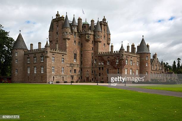 Great Britain Scotland Fife Area Angus The Glamis Castle Childhood Home Of The Queen Elizabeth
