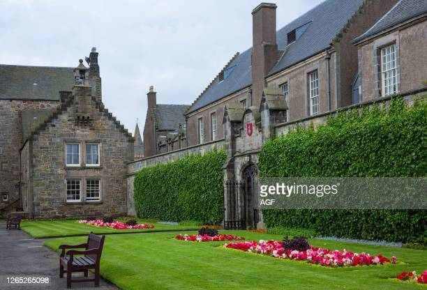 Great Britain. Scotland. Fife area. St Andrews. The University.
