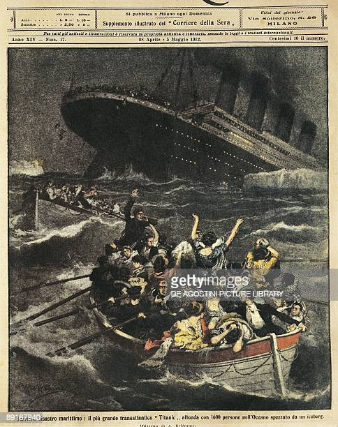 Great Britain Sinking of passenger liner Titanic