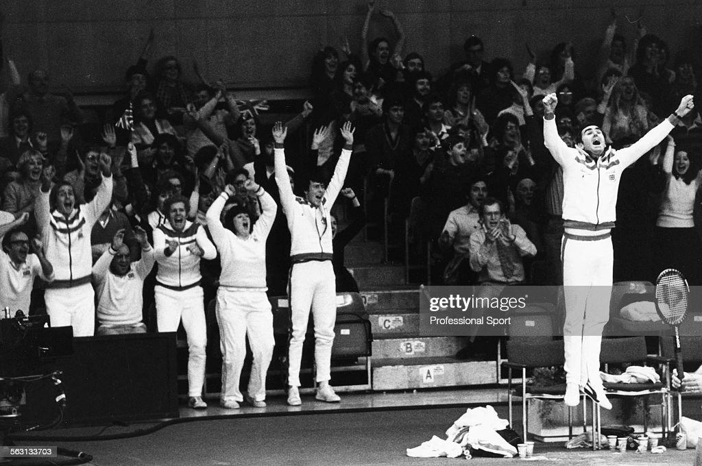 British Davis Cup Team 1981 : News Photo