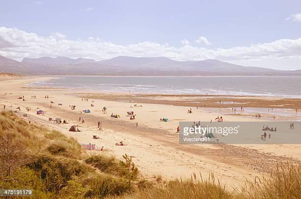 Great Britain, Wales, beach near Newborough
