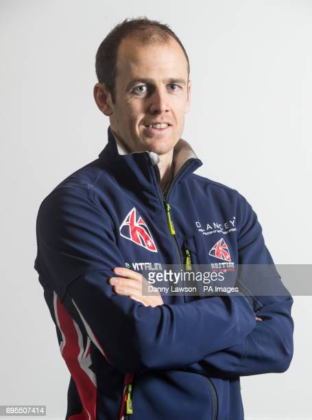 Great Britain Winter Olympics athlete Dave Ryding poses for a picture during the photocall at Pendle Ski Club PRESS ASSOCIATION Photo Picture date...