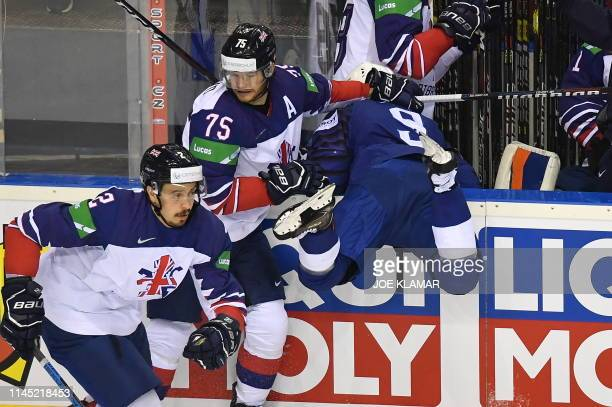 SVK: France v Great Britain: Group A - 2019 IIHF Ice Hockey World Championship Slovakia