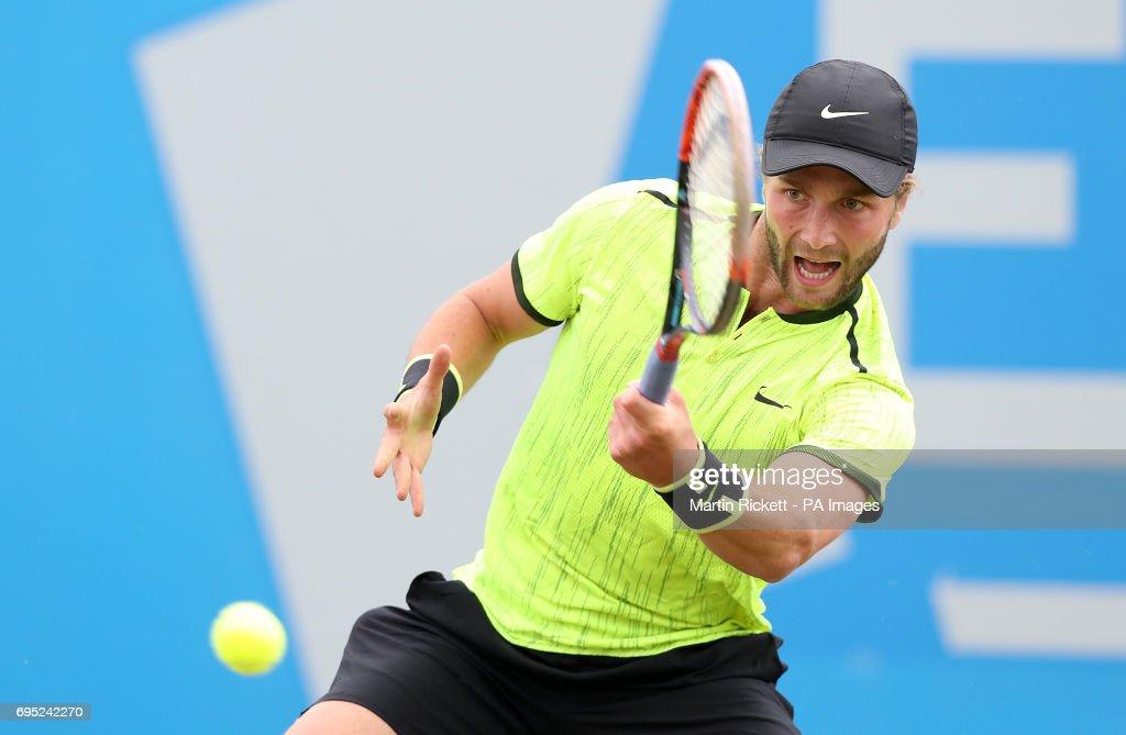 AEGON Open Nottingham - Day One - Nottingham Tennis Centre : News Photo