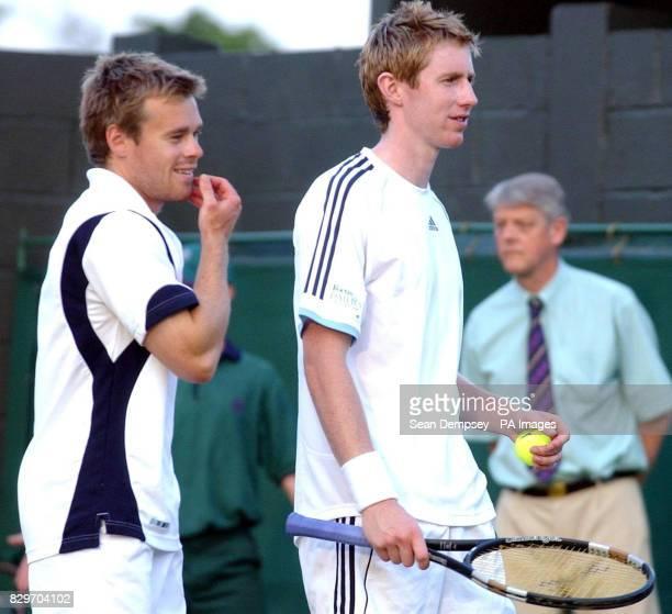 Great Britain's Mark Hilton and Jonathan Marray.