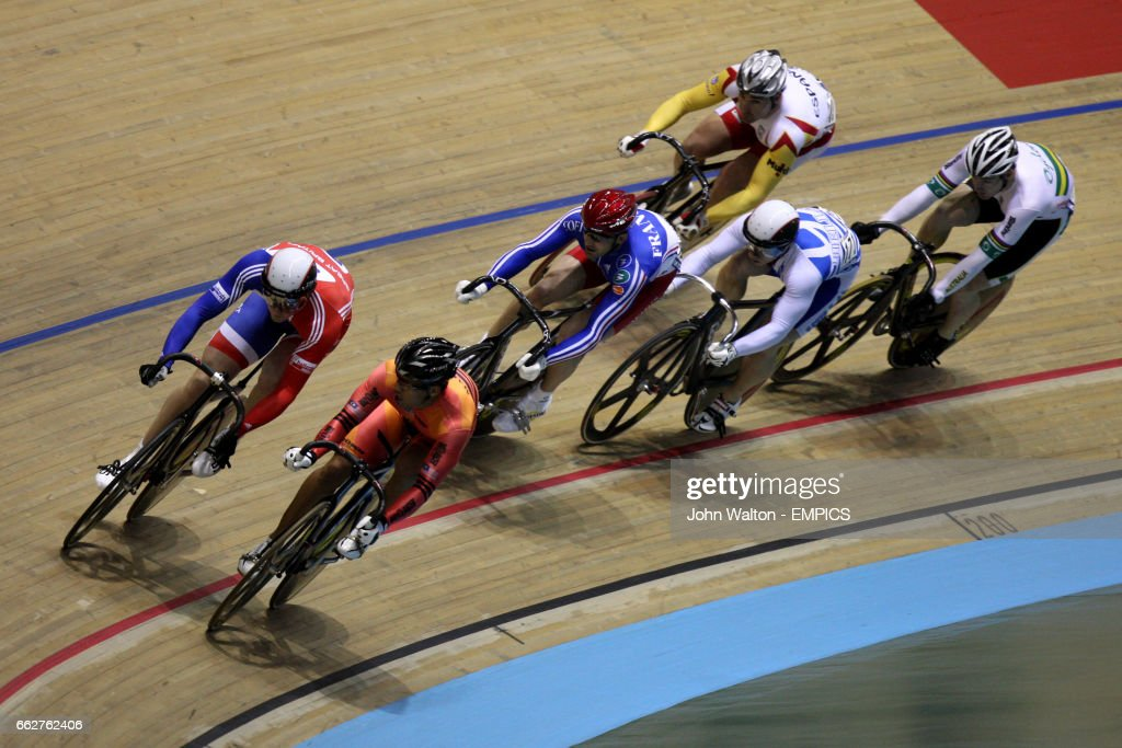 Great Britain's Ross Edgar during the Men's Keirin event