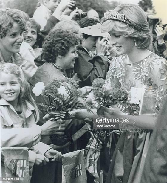 Great Britian Royal Tours Prince Charles and Princess Diana Canada 1983