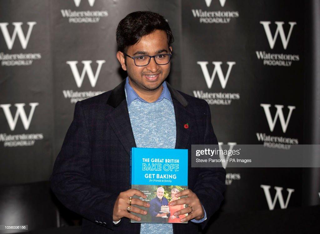 Great British Bake Off 2018 winner Rahul Mandal during a ...