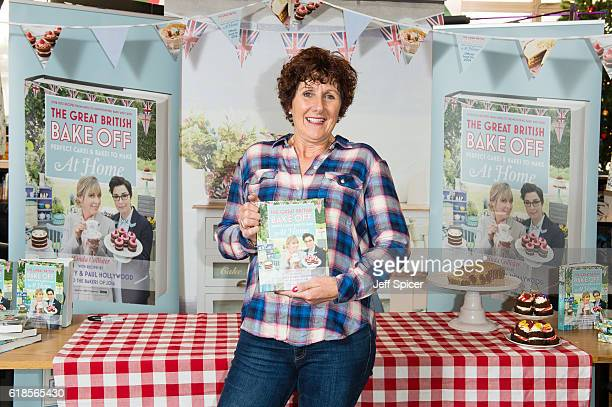 Great British Bake Off finalist Jane Beedle signs copies of 'The Great British Bake Off Perfect Cakes Bakes to Make at Home' at Waterstones...