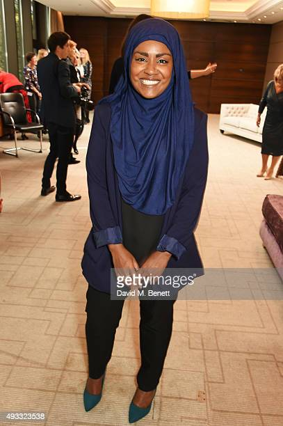 Great British Bake Off winner Nadiya Hussain attends the Women of the Year lunch and awards at the InterContinental Park Lane Hotel on October 19...
