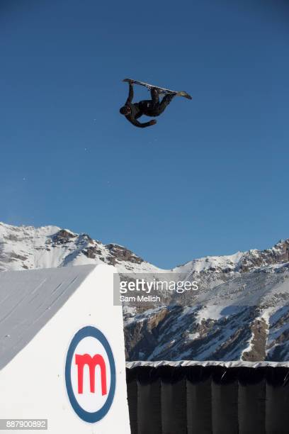 Great British freestyle skier Tyler Harding from GB Park Pipe the freestyle Ski and Snowboard Olympic development team at their brand new winter...